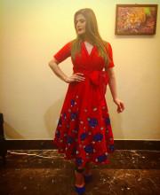 Zareen Khan Wearing Parul J Maurya