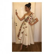 Divya Khosla Kumar in a Samant Chauhan Dress