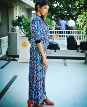 Lakshmi Manchu in an outfit by Siddhartha bansal