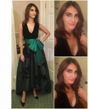Vaani Kapoor in a Sachin and Babi Gown