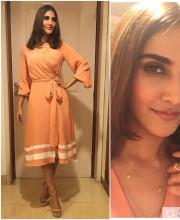 Vaani Kapoor in a Lola by Suman B Dress