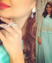 Huma Qureshi wearing Kalki fashion