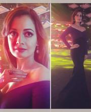 Dia Mirza in Gauri and Nainika at the Aditya Birla Group Awards