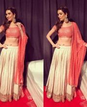 Karishma Tanna in an outfit by Abhinav Mishra
