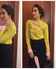 Karisma Kapoor in a Miu Niku Dress
