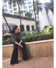Karisma Kapoor for the India Leadership Awards 2016 in Rohit Gandhi and Rahul Khanna