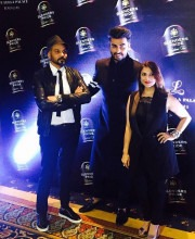 Arjun Kapoor in an outfit from Falguni and Shane Peacock s Prism collection