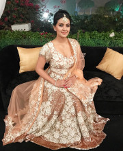 Geeta Basra wearing Manish Malhotra Picture: Instagram