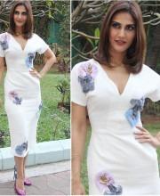 Vaani Kapoor in a Dress by Edeline Lee