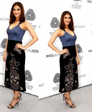 Vaani Kapoor in a stylish dress for a Woolmark event