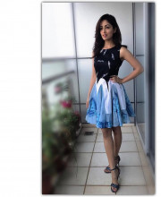 Yami Gautam dressed up for the promotions of her movie Kaabil
