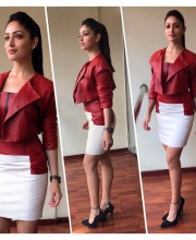 Yami Gautam for the promotions of her movie Kaabil