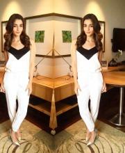 Alia Looks Gorgeous In White Jumpsuit