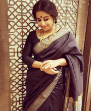 The beautiful Vidya Balan in a look created for her by Rick Roy