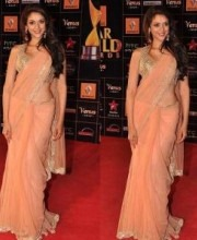Aditi Rao Hydari Indian Designer Payal Singhal Suit Star Guild Awards 2013