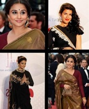 Indian Celebrities Aishwarya Rai Vidya Balan Nimrit Kaur Sabyasachi Cannes