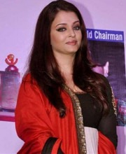 Aishwarya Rai In an Anarkali Suit by Indian Designer Sabyasachi Mukherjee