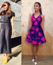 Alia Bhatt Looking Cool and Stylish in a  Sachin & Babi Dress