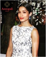 Freida Pinto Adds Some Sparkle With Amrapali