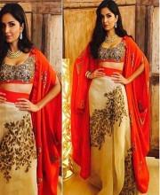 Katrina Kaif Wears Intricate Anamika Khanna Lehenga