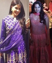 Juhi Chawla and Genelia D'Souza Both Wear Anita Dongre to Wedding