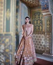 Aditi Rao Hydari for Hello Magazine in an Anita Dongre Lehenga