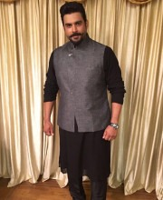 R Madhavan in a Bandhgala Jacket by Anita Dongre