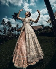 Sonakshi Sinha in an Anita Dongre Lehenga for an Editorial Shoot