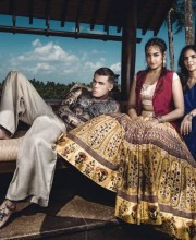 Sonakshi Sinha and Indian Fashion Designer Anita Dongre in a Magazine Feature