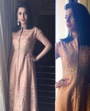 Shruti Haasan is the Epitome of Elegance in an Anita Dongre Suit