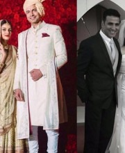 Asin Weds in Style in Sabyasachi and Vera Wang