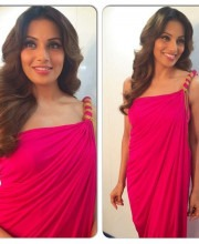 Bipasha Basu in a Beautiful Dress by Raakesh Agarvwal during Promotions for her movie Creature 3D