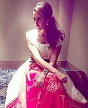 Neha Dhupia wearing an Indian Designer Dress by AM:PM - Ankur Modi and Priyanka Modi