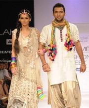 Shibani Dandekar and Puneet Pathak for Payal Singhal