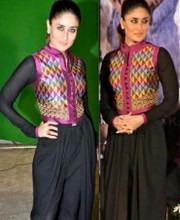 Kareena Kapoor Shows off Payal Pratap Singh Outfit at Satyagraha Event