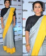 Vidya Balan in a Payal Singhal Designer Saree