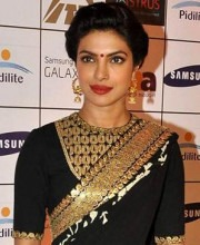 Priyanka Chopra in Indian designer Sabyasachi designer saree