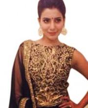 Siddartha Tytler - Samantha Ruth Prabhu in Lehenga by Siddartha Tytler at Music Launch of Kaththi'