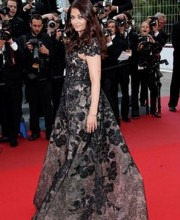 Aishwarya Rai Bachchan in Fashion Desinger Elie Saab at Cannes 2013