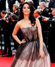 Mallika Sherawat in Dolce & Gabbana at Cannes 2013