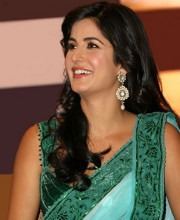 Bollywood Star Katrina Kaif in a Couture Saree by Tarun Tahiliani