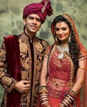 Sayali Bhagat gets married in a Tarun Tahiliani outfit