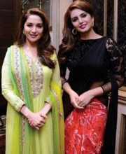 "Huma Qureshi Unveils the ""Contemporary Classic"" Collection of Aza Showroom"