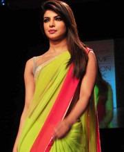 Priyanka Chopra in Manish Malhotra at LFW