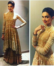 Deepika Padukone in a Tarun Tahiliani Ensemble