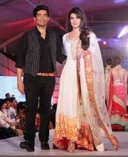 Priyanka Chopra at CPAA wearing a Manish Malhotra Salwar Kameez