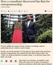 Vivek Agarwal | Strand of Silk | Financial Times
