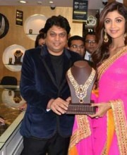 Gorgeous Shilpa Shetty Wearing a Magnificent Pink Saree| Shilpa Shetty at the PC store launch