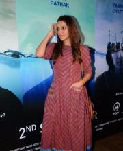 Neha Dhupia Looks Funky In Anita Dongre Maxi Dress