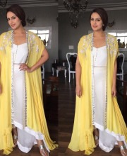 Sunny Huma Qureshi Wears Lovely Yellow Outfit